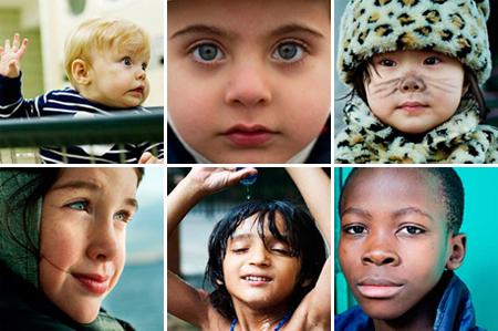 Crianças de todas as raças